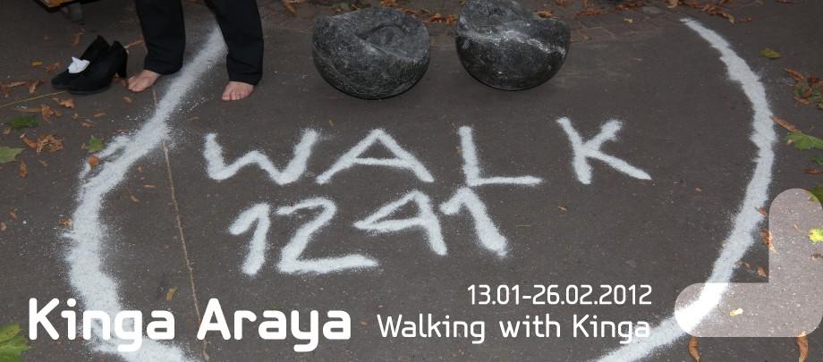 Kinga Araya, Walking with Kinga (źródło: materiały prasowe Bunkra Sztuki)