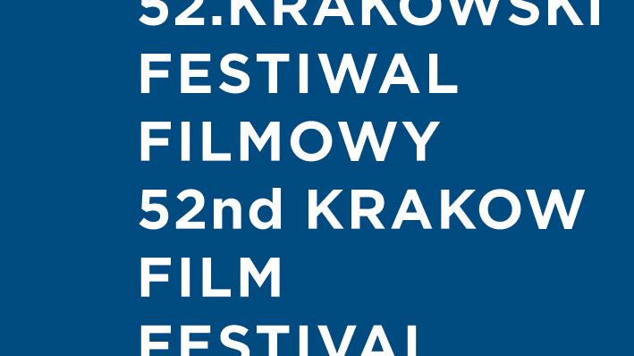 Logo 52. Krakowskiego Festiwalu Filmowego (źródło: materiały prasowe organizatora)