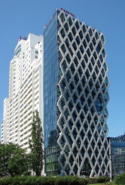 Biurowiec Prosta Tower, proj. APA Kuryłowicz (źródło: materiały prasowe organizatora)