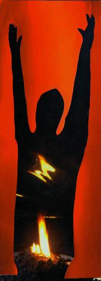 """Debata """"Sztuka i prawa człowieka. Czy sztuka może pomóc Tybetańczykom"""", plakat (źródło: materiał prasowy)"""