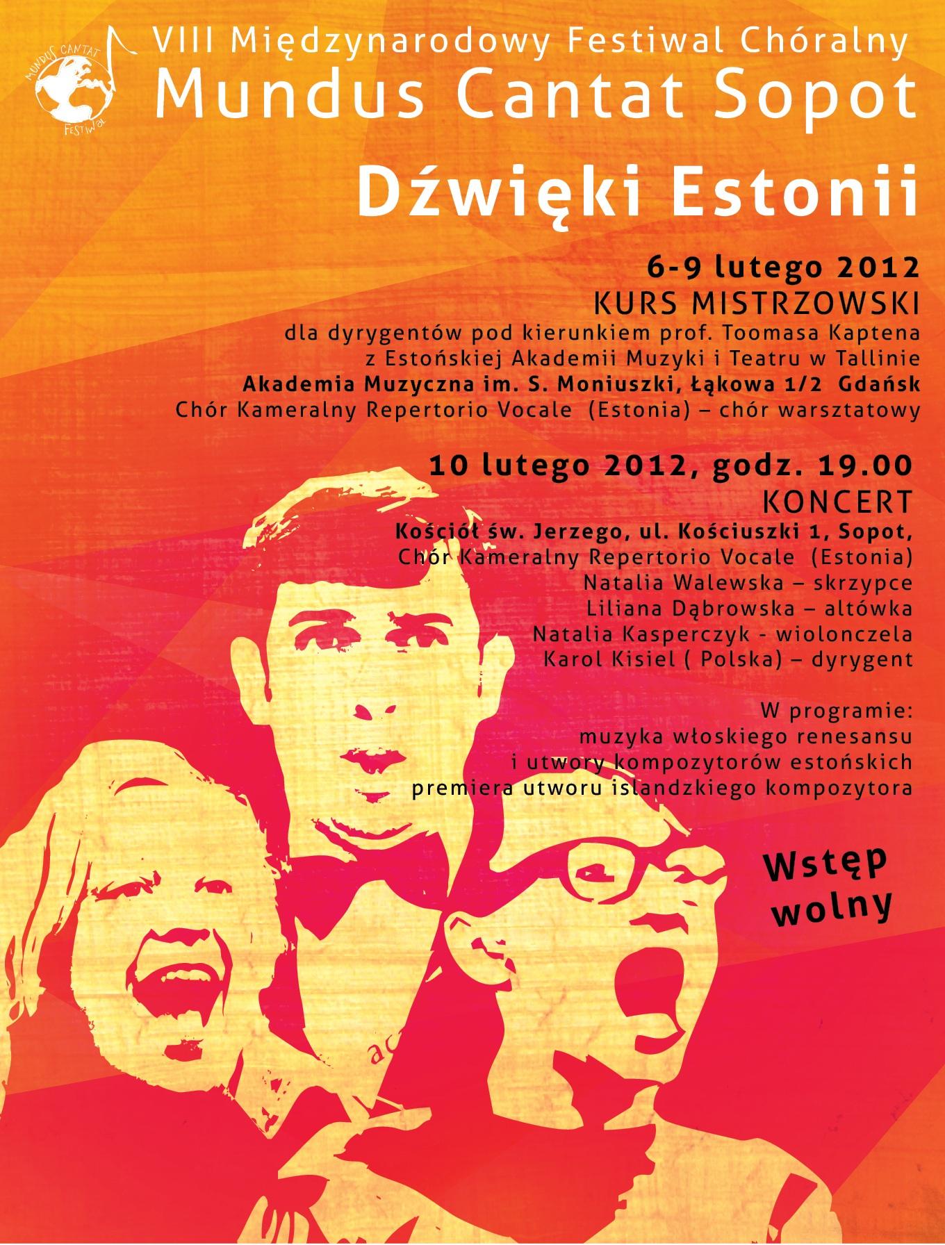 VIII Międzynarodowy Festiwal Chóralny Mundus Cantat w Sopocie (źródło: materiał prasowy)
