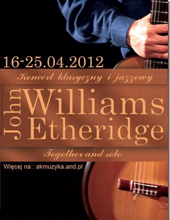 John Williams i John Etheridge - Together and Solo (źródło: materiał prasowy organizatora)