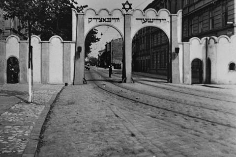 Kraków - Brama Getta (źródło: materiał prasowy organizatora)