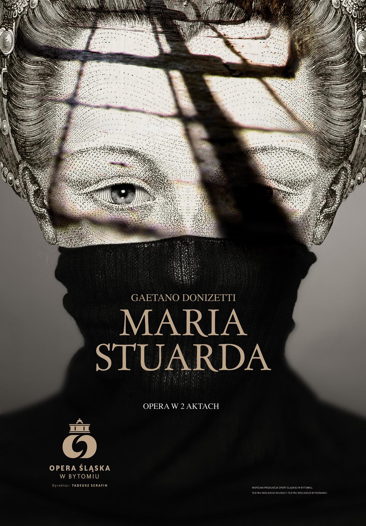Maria Stuarda - plakat, (źródło: materiały prasowe)