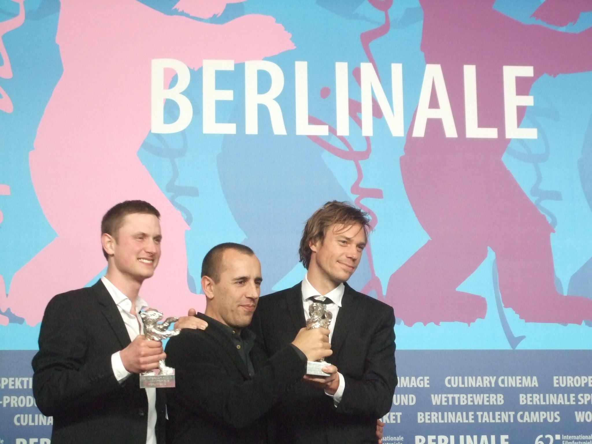 Mikkel Boe Folsgaard, Nikolaj Arcel, Rasmus Heisterberg, fot. A. Hołownia (źródło: materiał prasowy)