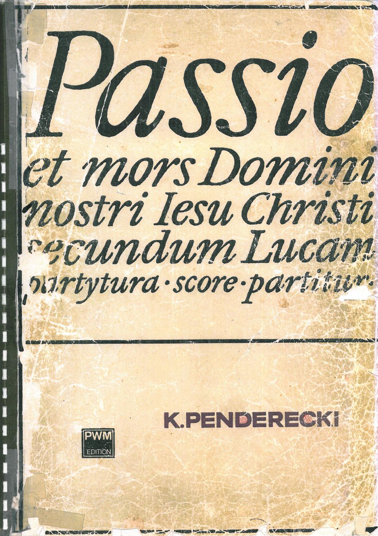 Pasja wg św Łukasza (źródło: materiał prasowy)