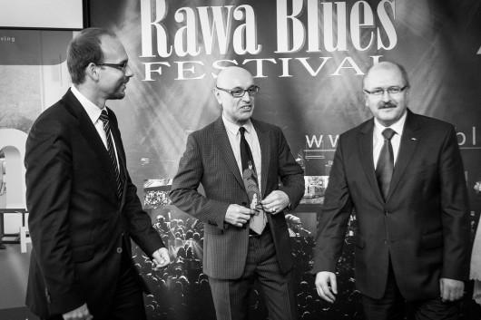 Konferencja prasowa z okazji przyznania KBA 2012 dla Rawa Blues Festival, fot. Jacek Mól