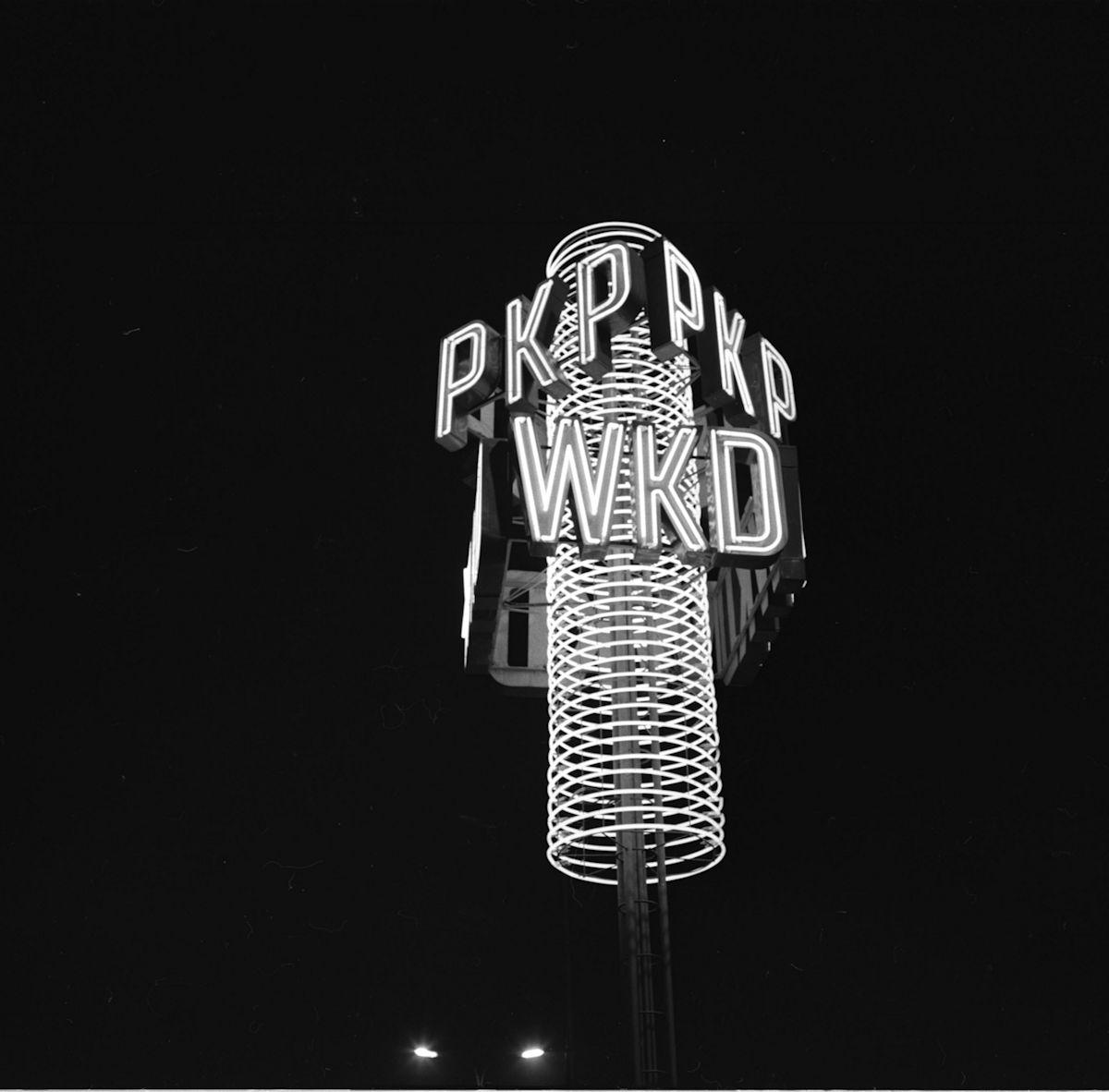 Tadeusz Sumiński, Neon z Dworca Warszawa Ocho ta, 1963 (źródło: materiał prasowy)