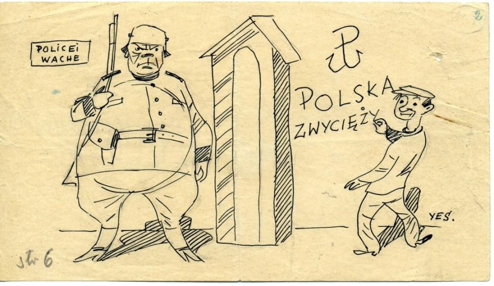 "Henryk Chmielewski (pseud. Yes) ""Demokrata"" 10 sierpnia 1943"