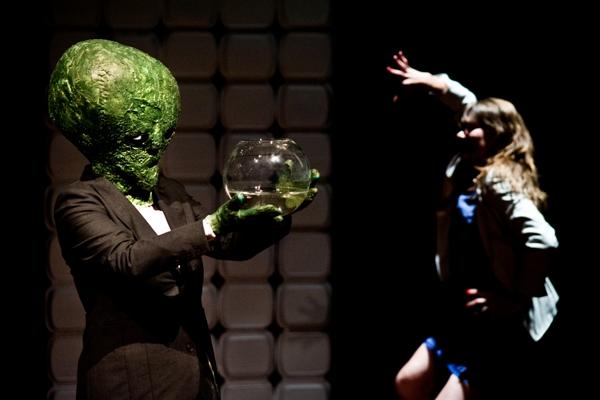 """""""Alien"""", Teatr Palmera Eldritcha w Poznaniu, fot. M. Zakrzewski (źródło: materiał prasowy)"""