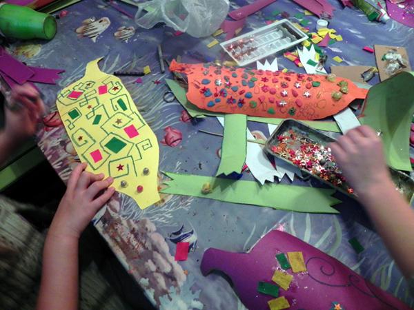 Warsztaty dla dzieci organizowane przez Fundację Atelier (źródło: materiały prasowe)