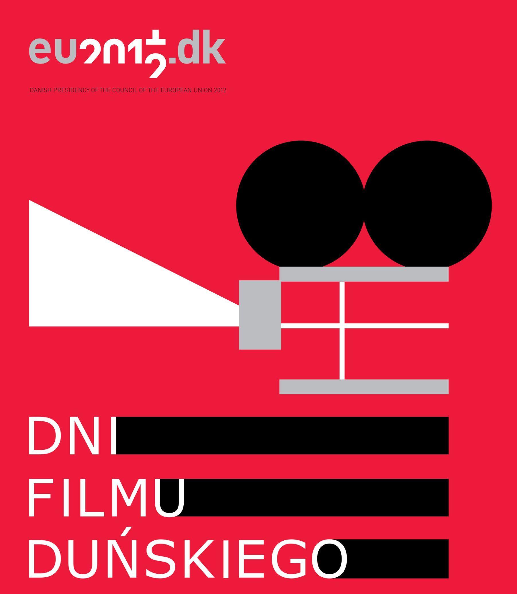 """Plakat przeglądu """"Dni Filmu Duńskiego"""" (źródło: materiał prasowy organizatora)"""