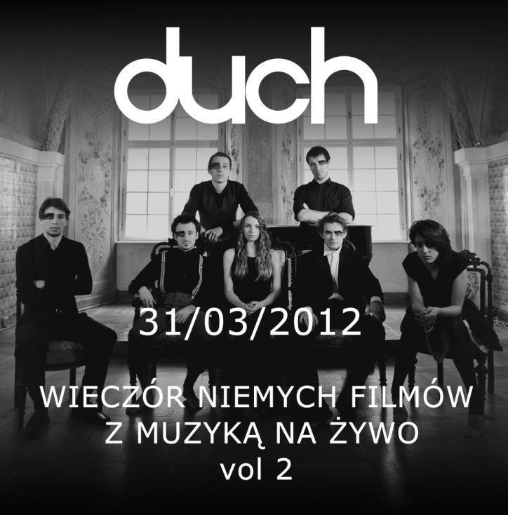 Plakat koncertu zespołu Duch (źródło: materiały prasowe)