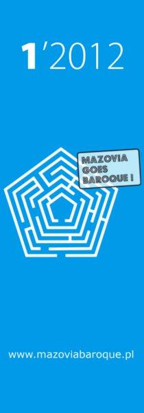 IV edycja Mazovia Goes Baroque - plakat (źródło: materiał prasowy)