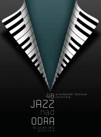 Plakat festiwalu Jazz nad Odrą autorstwa Weroniki Kowlaskiej (źródło: materiały prasowe)