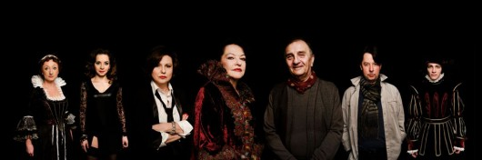 """""""Żona króla Leara. Czarna komedia."""", reż. Jerzy Gruza, fot. A. Wencel (źródło: materiały prasowe organizatora)"""