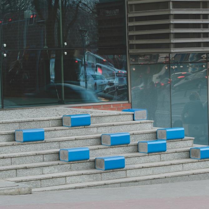 """K. Toczyńska, A. Superczyńska, """"Blue blok"""" (źródło: materiał prasowy)"""