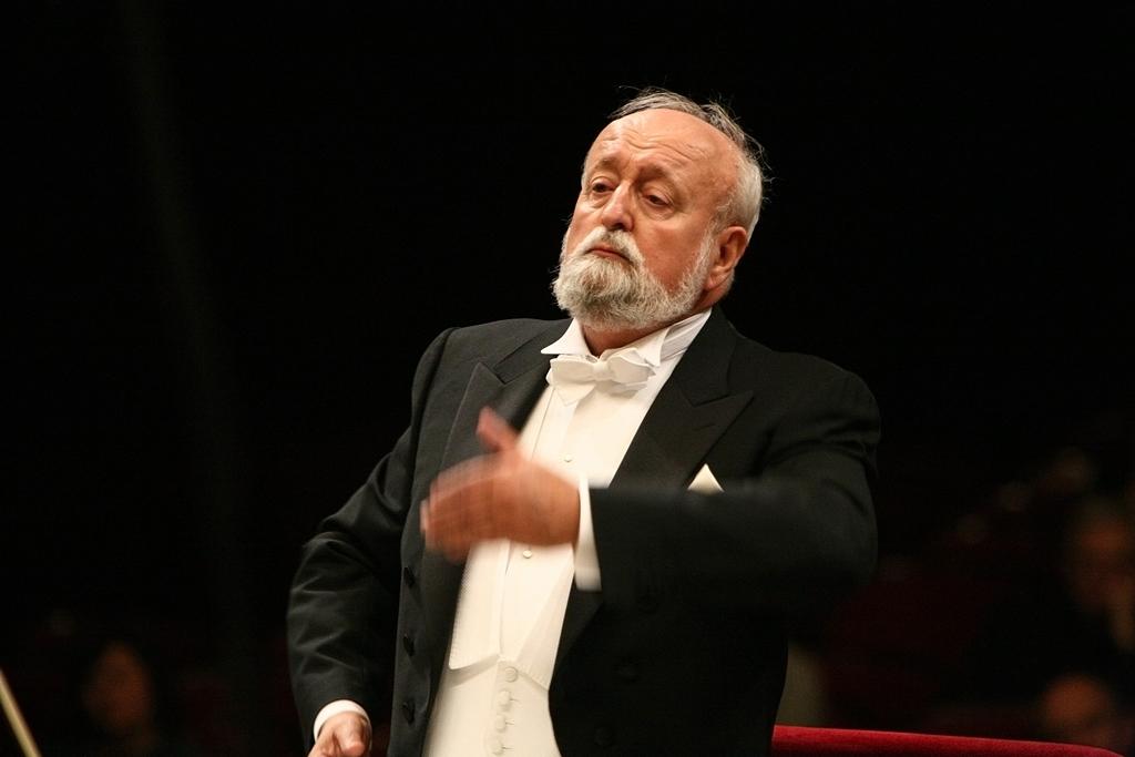 Krzysztof Penderecki, fot. Bruno Fidrych (źródło: materiały prasowe)