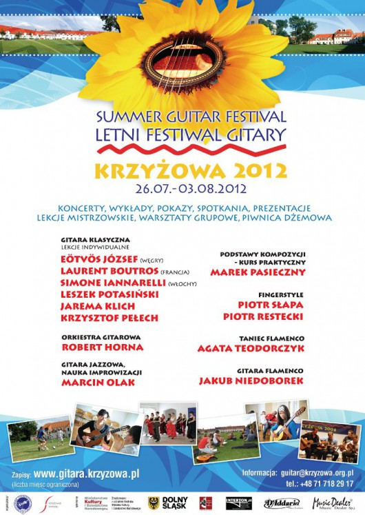 Letni Festiwal Gitary w Krzyżowej (żródło: materiały prasowe)