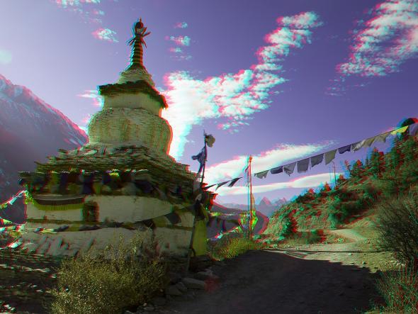 """""""W drodze do Manang - Nepal"""", fot. Maciej Samulski (źródło: materiał prasowy)"""