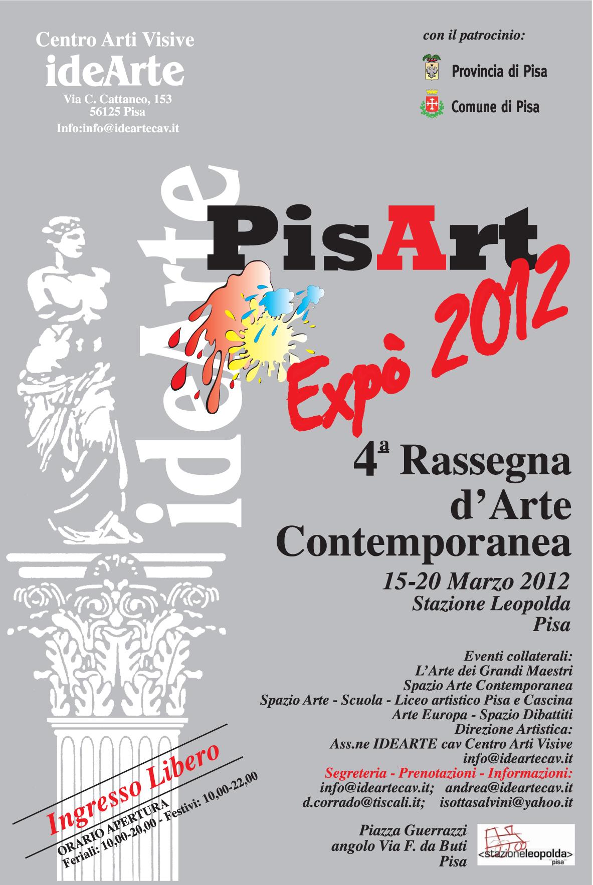 Plakat PisArt Expo 2012 (źródło: materały prasowe organizatora)