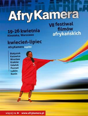 Plakat AfryKamera Festiwalu Filmów Afrykańskich (źródło: materiały organizatora)