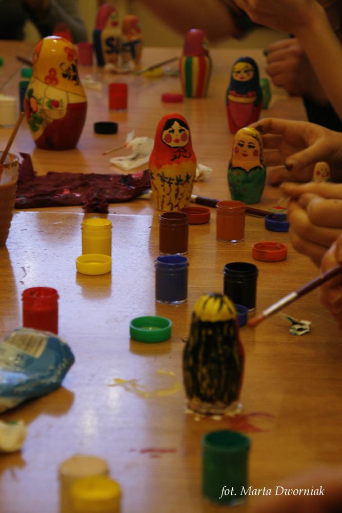 Warsztaty malowania matrioszek, 6. edycja SLOT Fest (źródło: materiały organizatora)