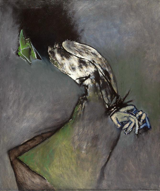 """Stanisław Rodziński, """"Pamięci moje wuja Leona Matolskiego"""", 1991 (źródło: materiał prasowy)"""