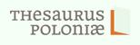 Logo Thesarus Poloniae