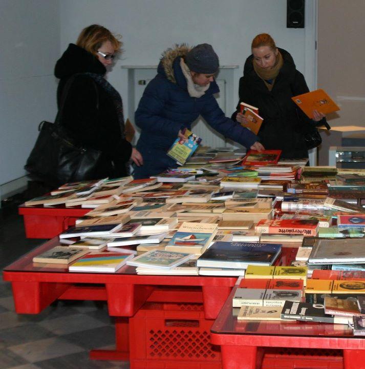 """""""Wymienialnia Książek"""", Galeria Kordegarda, Warszawa (źródło: materiał prasowy)"""