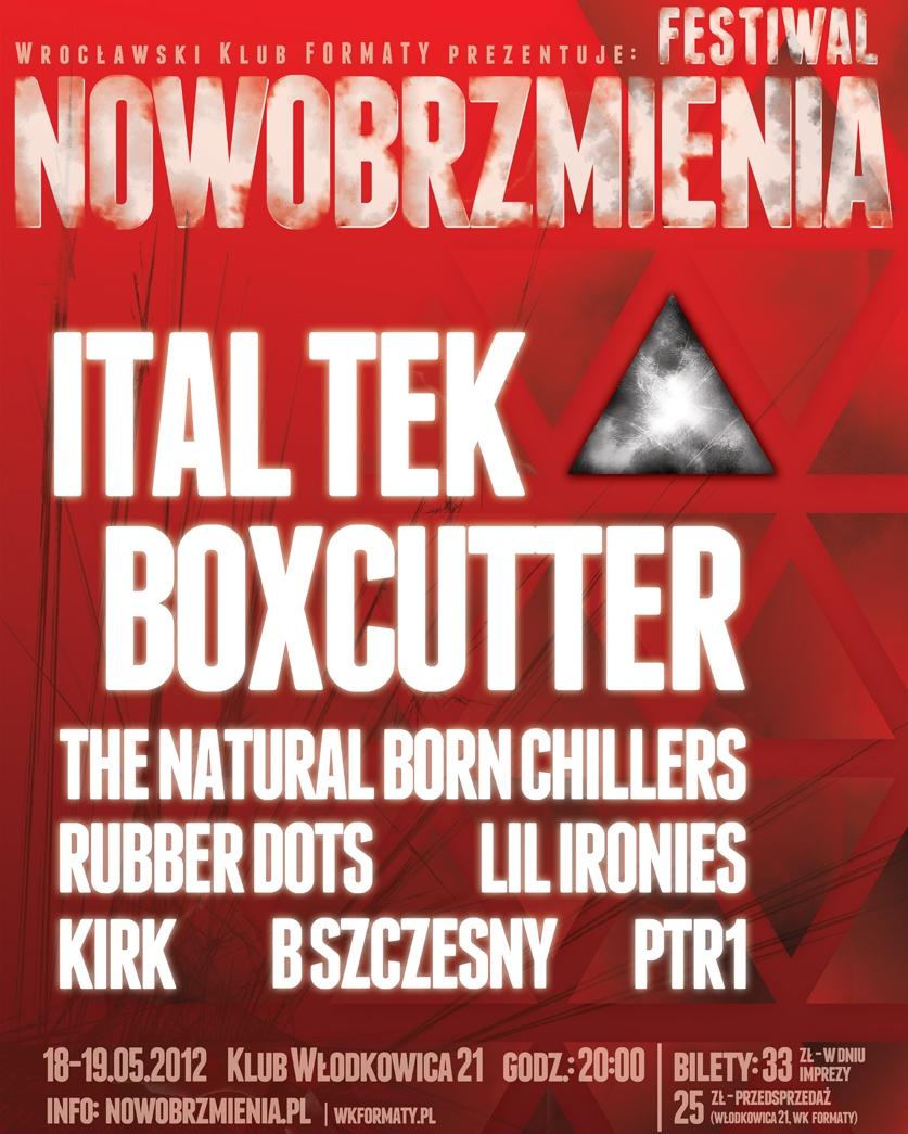 Festiwal Nowobrzmienia, plakat (źródło: materiały prasowe)