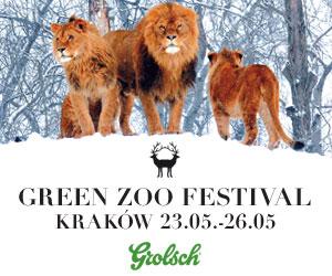 GreenZOO Festival, plakat (źródło: materiały prasowe)