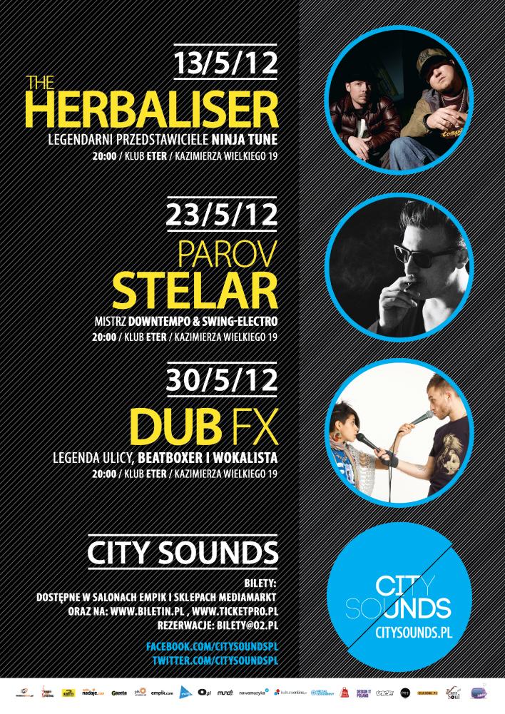 Klubowa majówka z City Sounds, plakat (źródło: materiały prasowe)