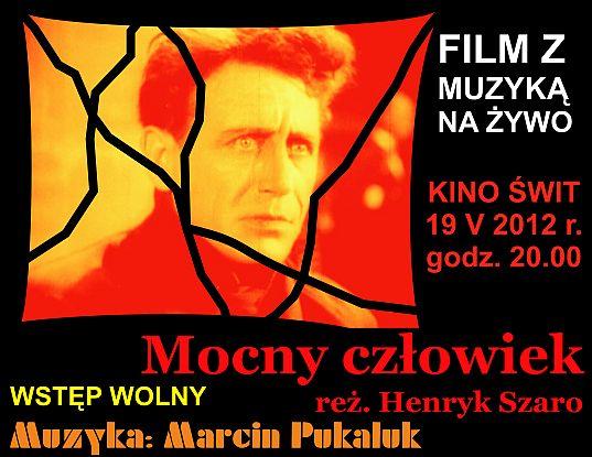 Afisz do występu Marcina Pukaluka w Kinie Świt (źródło: materiały prasowe)