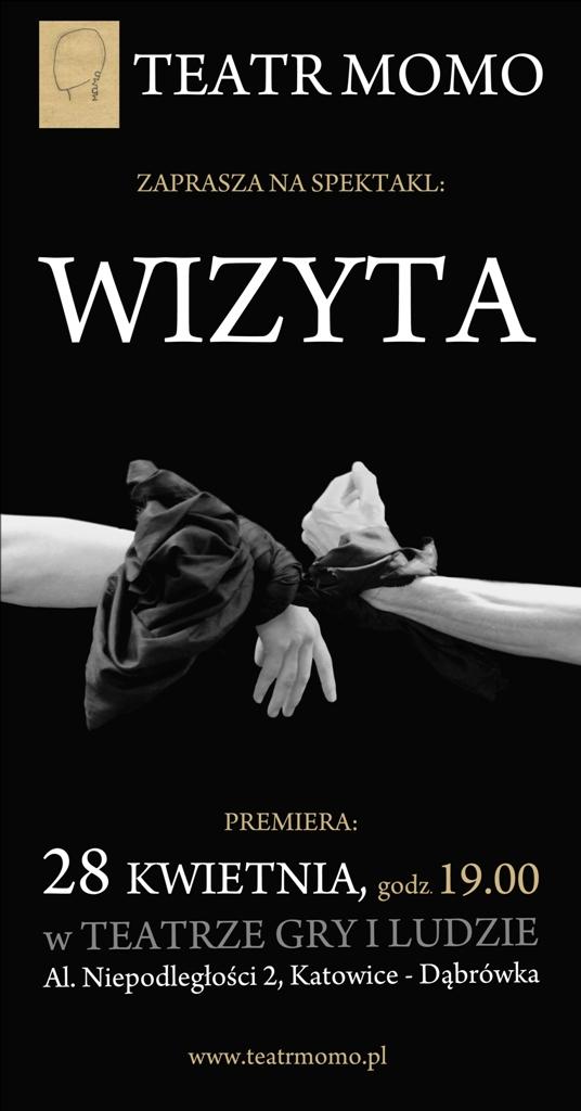 """""""Wizyta"""", Teatr Momo w Katowicach (źródło: materiały prasowe organizatora)"""