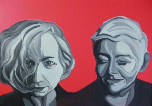 """Maria Kubit, """"Czerwony"""" (źródło: materiał prasowy)"""