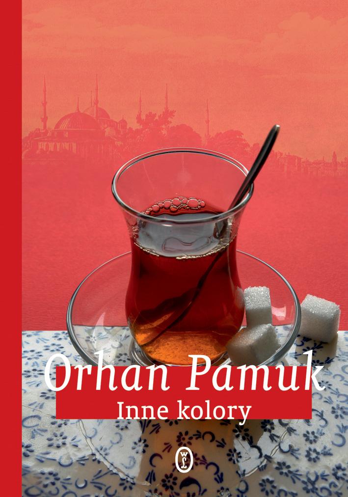 """Orhan Pamuk, """"Inne kolory"""", okładka książki (źródło: materiały prasowe)"""
