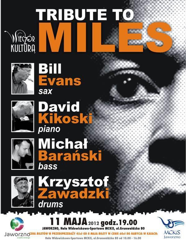 Tribute to Miles, plakat (źródło: materiały prasowe)