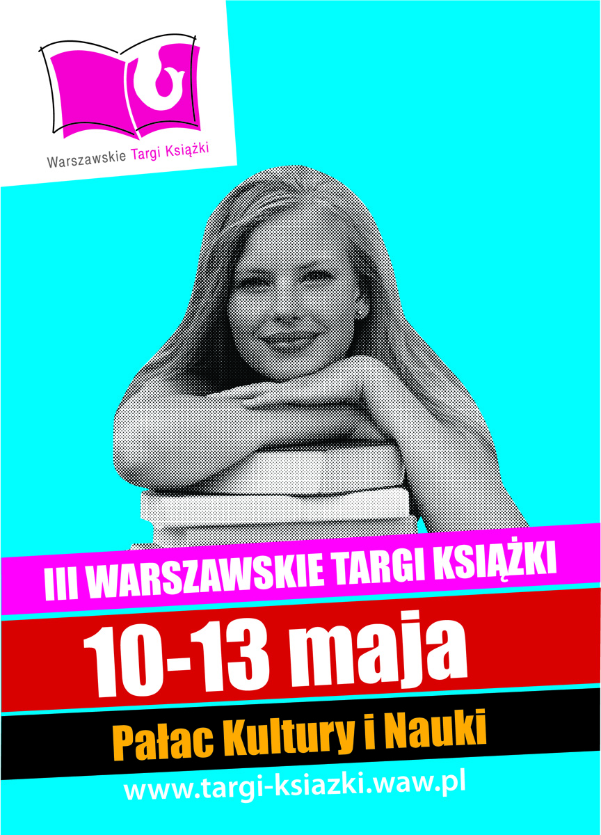 Plakat 3. Warszawskich Targów Książki (źródło: materiały prasowe)