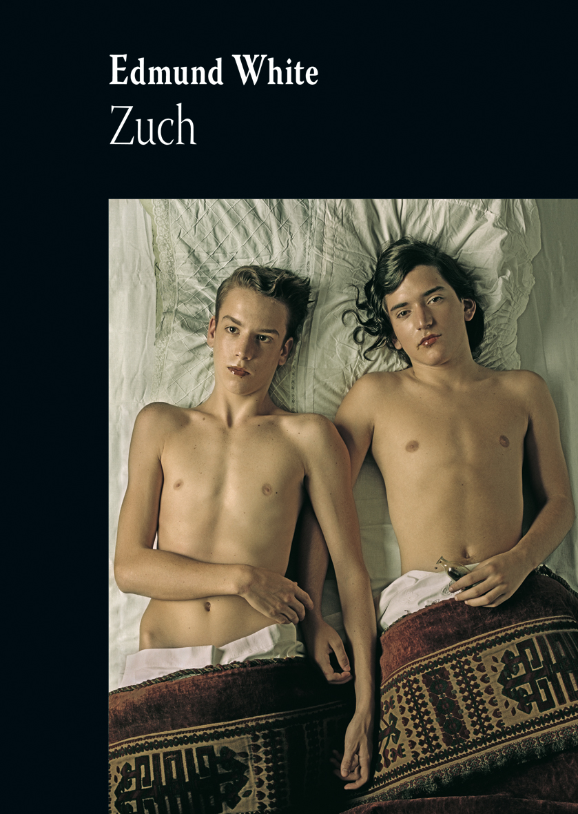 """Edmund White, """"Zuch"""", okładka książki (źródło: materiały prasowe)"""