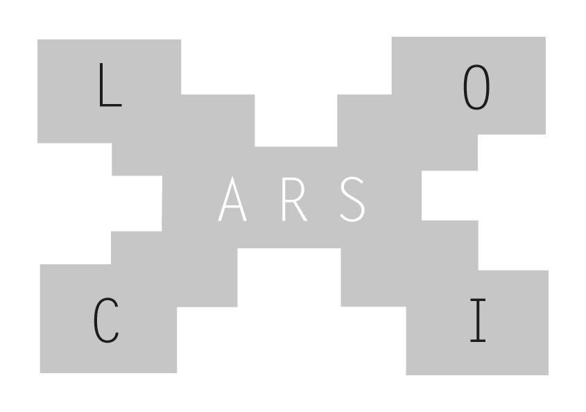 Logotyp wystawy Ars loci (źródło: materiały prasowe)