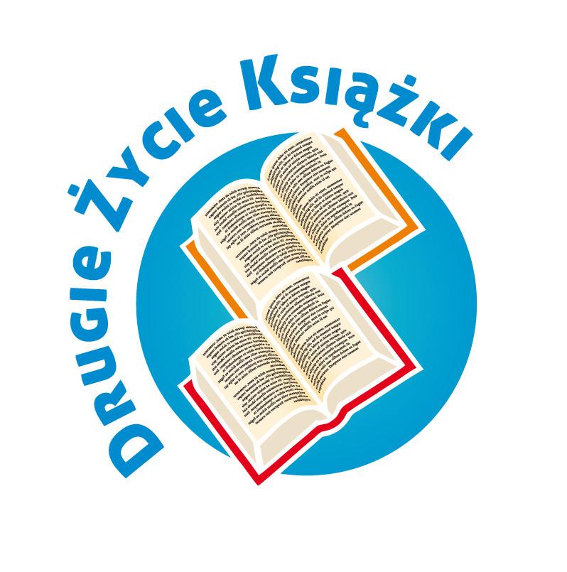 """Logo akcji """"Drugie życie książki"""" (źródło: materiały prasowe)"""