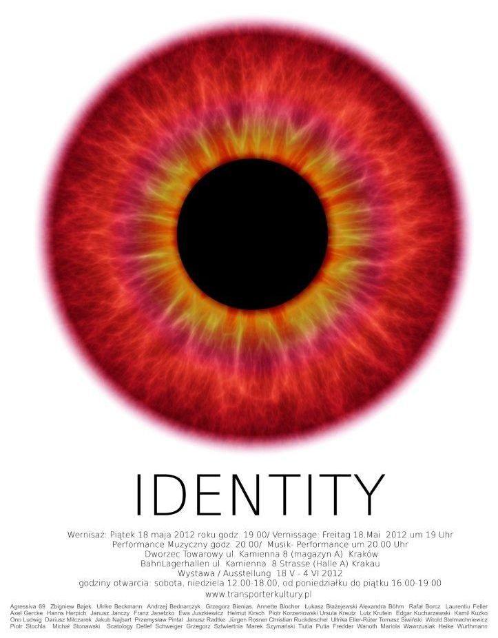 IDENTITY 2012 - plakat (źródło: materiał prasowy)