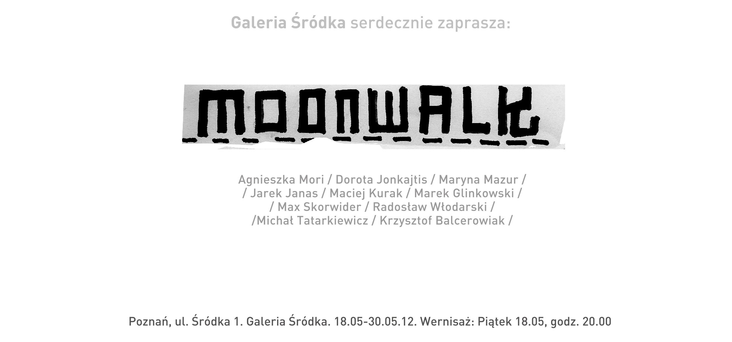 Moonwalk, plakat (źródło: materiały prasowe)