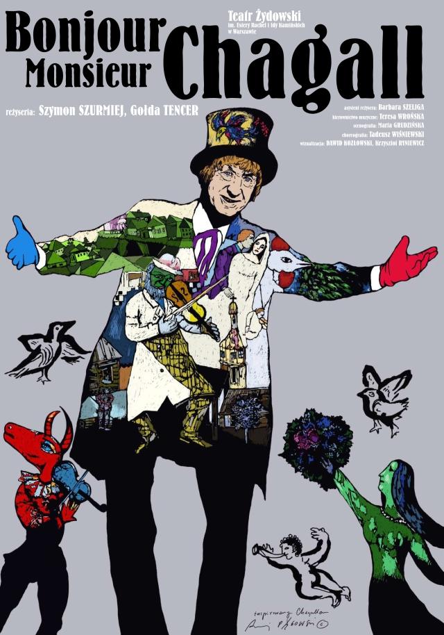 """""""Bonjour Monsieur Chagall"""", reż. Gołda Tencer i Szymon Szurmiej (źródło: materiały prasowe organizatora)"""