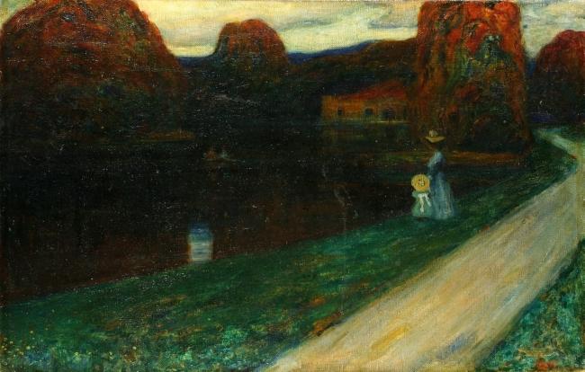 """Wassil Kandinski, """"Wieczorem"""" (źródło: materiał prasowy)"""
