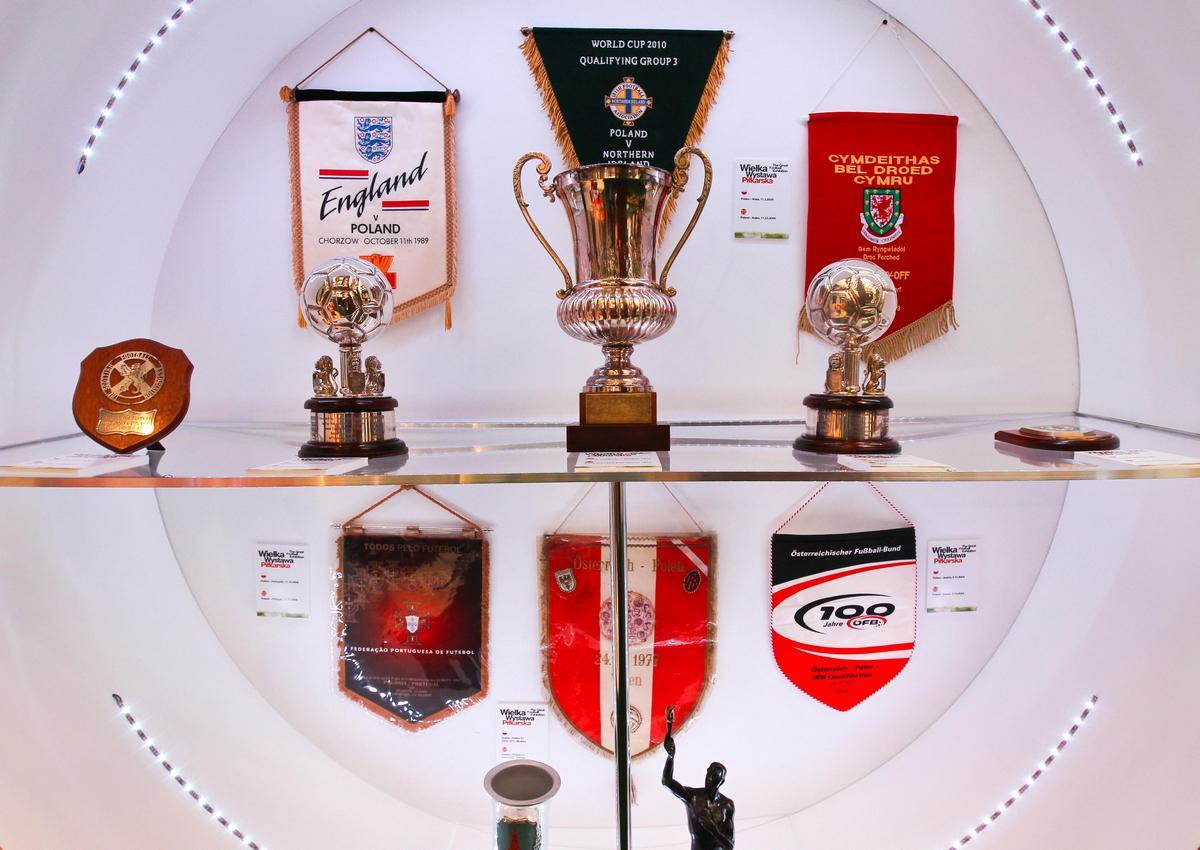 Wielka Wystawa Piłkarska w Pałacu Kultury i Nauki w Warszawie, Fot: M. Śmiarowski (źródło: materiał prasowy)