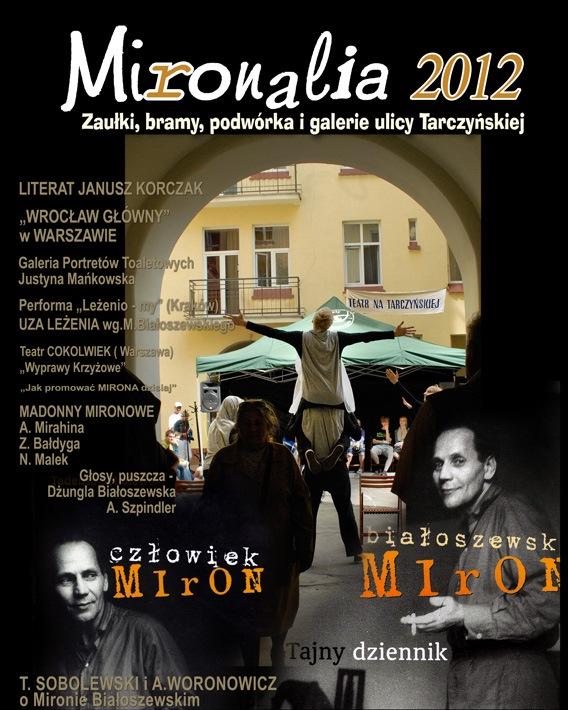Mironalia 2012, plakat (źródło: materiały prasowe)