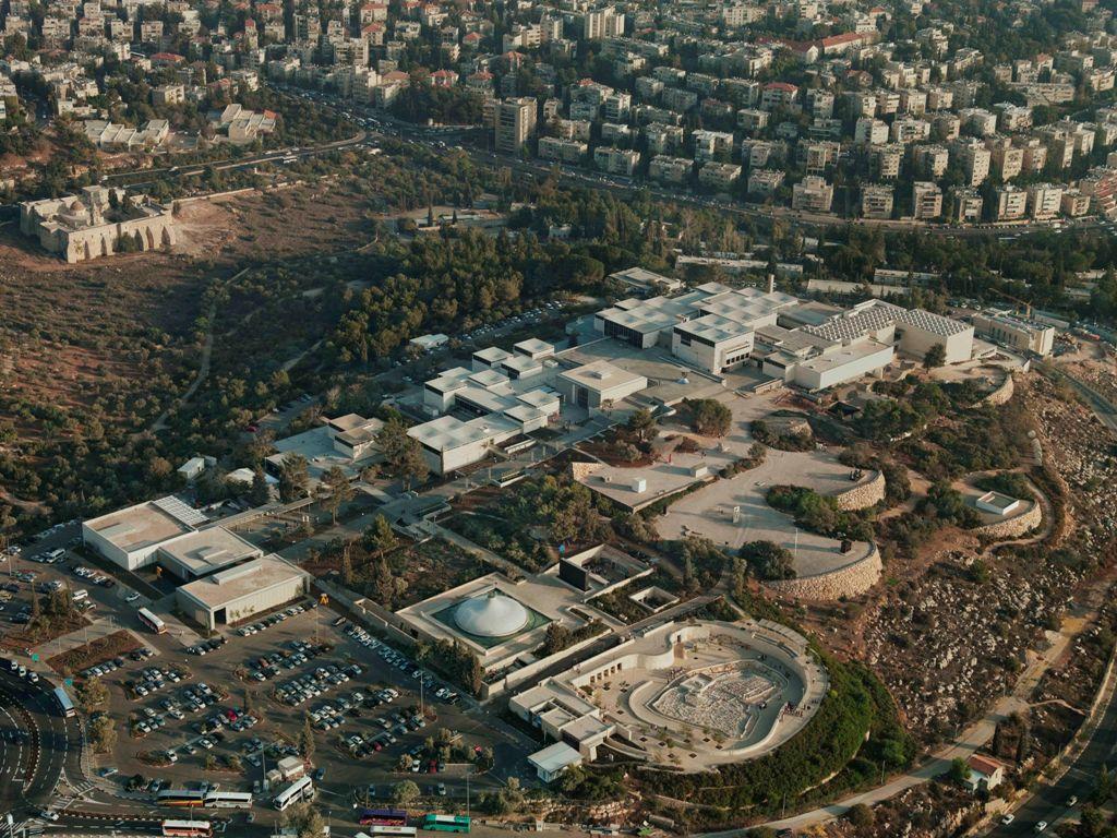 Widok z lotu ptaka na Israel Museum w Jerozolimie Tim Hursley, Courtesy the Israel Museum, Jeruzalem (źródło: materiały prasowe organizatora)