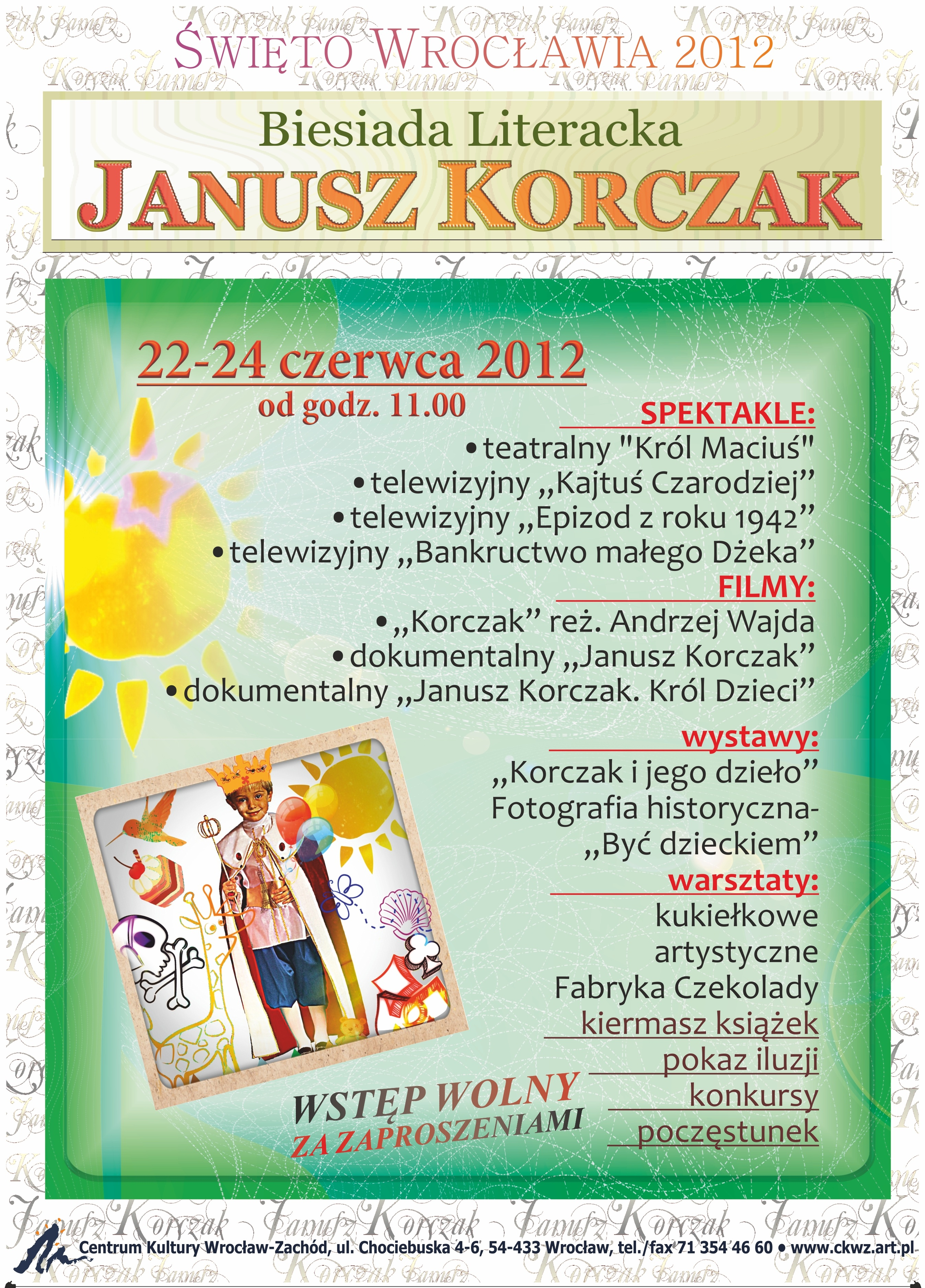 """Plakat """"Biesiady Literackiej"""" (źródło: materiały prasowe organizatora)"""
